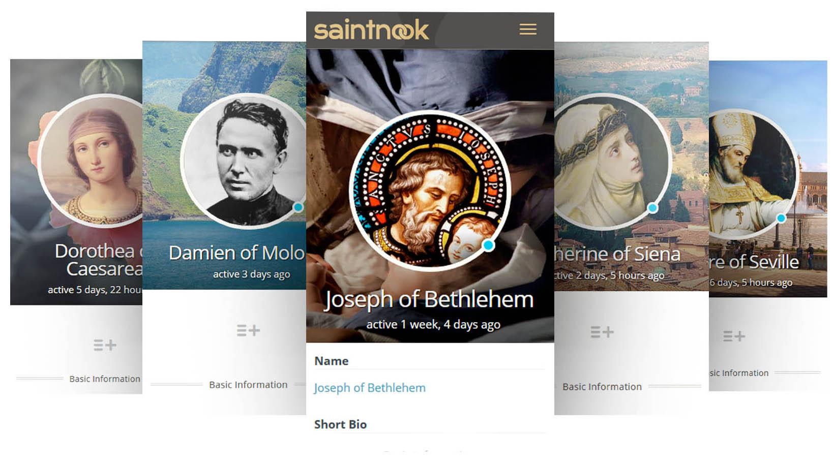 Saintnook: A Social Network