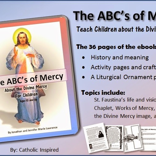 DIVINE MERCY EBOOK FOR CHILDREN - GREAT LEARNING TOOL!