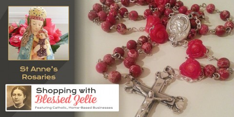 Saint Anne's Rosaries – Shopping with Blessed Zelie