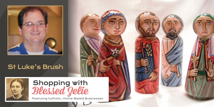 St. Luke's Brush - Shopping with Blessed Zelie