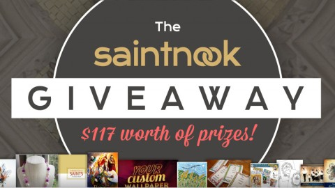 Enter the Saintnook July Giveaway to Win $117 Worth of Catholic Prizes!