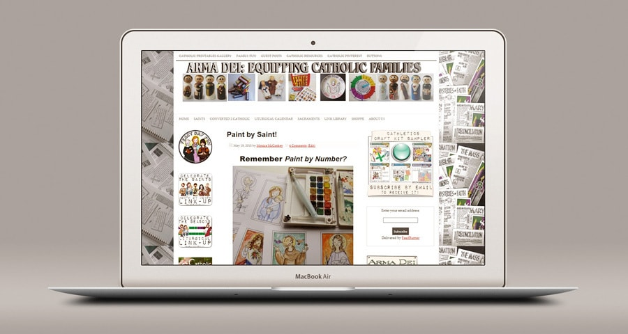 Arma Dei:  Equipping Catholic Families - Shopping with Blessed Zelie