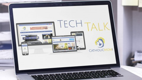 Tech Talk Reviews Saintnook: 'Facebook for the Saints!' | CatholicMom.com