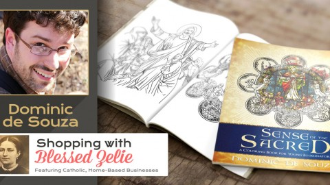 Meet: CatholicAuthor Dominic de Souza – Shopping with Blessed Zelie