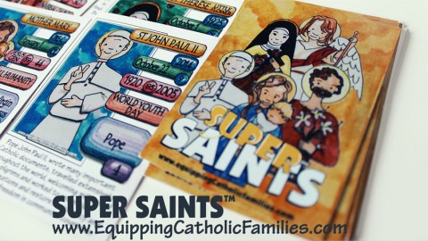 Super Saints: The New Catholic Card Game for Families!