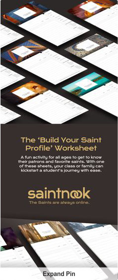 Freebie: Download the 'Build Your Saint Profile' Worksheet - Canyon