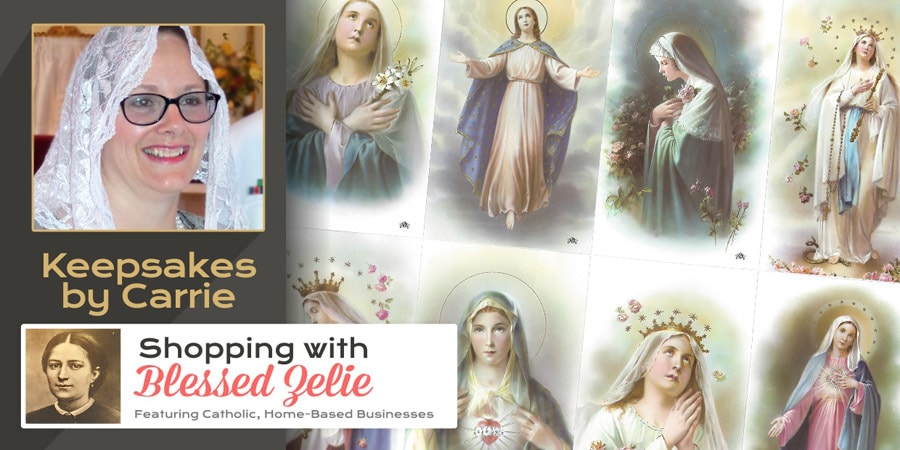 Keepsakes by Carrie - Shopping with Blessed Zelie