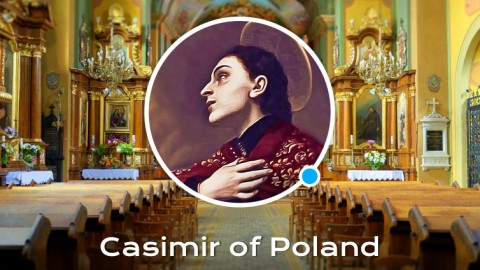 Life of St Casimir of Poland